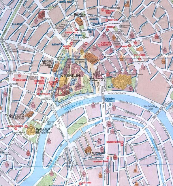 Moskva Podmoskove 2011 Karta / Karta: Moskva. Podmoskove (In ...